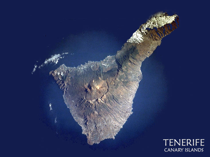 click for city map of tenerife